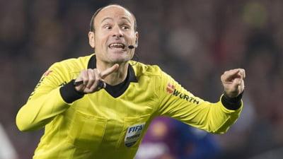 Cine va fi arbitrul finalei Ligii Campionilor la fotbal