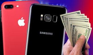 Cinismul Samsung nu cunoaste limite. Se cearta cu Apple, dar face miliarde datorita iPhone