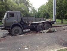 Ciocniri la granita Ucrainei: Rusii incearca sa introduca arme in Luhansk