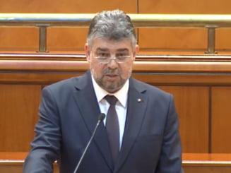 Ciolacu: Nu o sa sustinem un guvern minoritar al PNL. Este exclus asa ceva