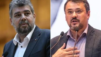 """Ciolacu, replica ironica dupa ce ministrul Ghinea a zis despre el ca """"nu stie o boaba de limbi straine"""": """"Are un potential de crestere, fiind ministrul zero"""""""