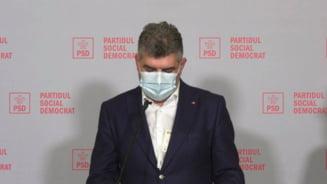 Ciolacu, surprins cu banii iesiti din sacou. Liderul PSD anunta va depune o motiune simpla la adresa ministrului Oros, la Camera Deputatilor