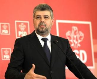 Ciolacu anunta ca PSD va depune motiune de cenzura