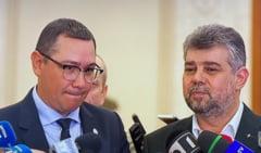 Ciolacu si Ponta au batut palma pentru un acord post-electoral