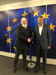 Ciolacu spune ca a facut pace cu socialistii europeni, inclusiv Timmermans: Vor sprijini demersurile PSD