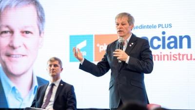 """Cioloş: """"Soluţia alegerilor anticipate poate fi discutată după ce clarificăm situaţia premierului Cîţu. Nu avem niciun proiect politic cu AUR"""""""