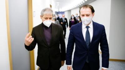 """Cioloș ațâță spiritele înainte întâlnirii dintre USR PLUS și PNL: """"Florin Cîțu e un politician incompetent care a aruncat totul în aer. Noi nu-l mai ținem în brațe"""""""