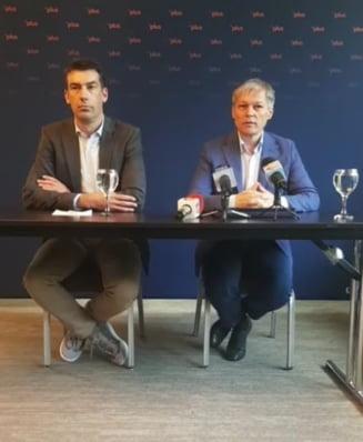 Ciolos: Nu exista niciun blocaj in negocierile cu USR. Fiecare membru PLUS va vota direct cine va candida la presedintie si la Primaria Capitalei (Video)