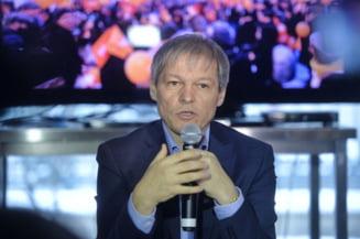 Ciolos: Stenograma arata ca Guvernul Grindeanu a adoptat pe repede inainte recursul compensatoriu