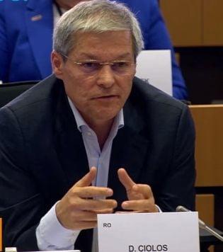 Ciolos, despre audierea comisarului propus de Franta desi are dosar la OLAF: ''I-am recomandat sa vina cu toate clarificarile''