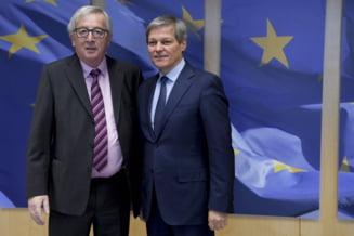 Ciolos, dupa intalnirea cu Juncker: Locul Romaniei este in nucleul dur al Uniunii Europene