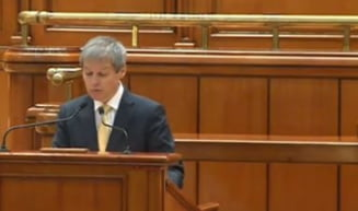 Ciolos, in fata Parlamentului: Nu ne dorim si nu putem sa inlocuim clasa politica