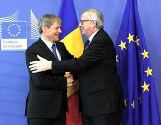Ciolos, intalniri la Bruxelles cu Juncker si alti oficiali. A avut inainte discutii cu Grindeanu