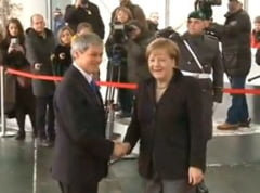 Ciolos, la Berlin: Romania vrea intr-un Schengen securizat, solid. Merkel: Asteptam MCV-ul (Video)