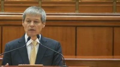Ciolos ii da replica lui Tariceanu: Nu exista in programul de guvernare masuri anticonstitutionale