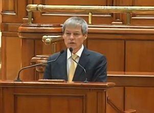 Ciolos merge in Parlament: Gorghiu ii cere sa puna punctul pe i