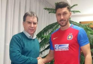 Ciprian Marica a semnat cu Steaua - oficial
