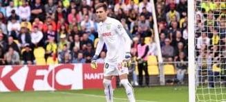 Ciprian Tatarusanu, debut de cosmar la Lyon. A incasat trei goluri si a primit nota 4 de la presa franceza (Video)