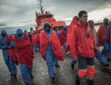 Circa 100.000 de migranti au traversat in 2018 Marea Mediterana in Europa, peste 2.000 au murit inecati