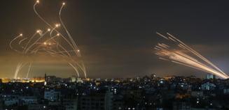 Circa 3.000 de rachete au fost lansate in mai putin de o saptamana din Fasia Gaza catre Israel