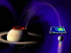 Circuit electric intre Saturn si Enceladus
