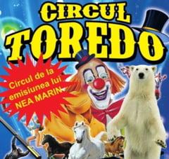 Circul Toredo a ajuns la Iasi. Numere nemaivazute pana in prezent in Iasi, comici din Ucraina si multe surprize pentru cei mici