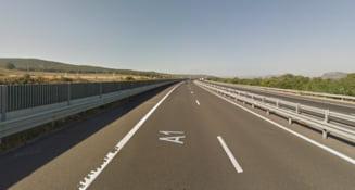Circulație deviată pe autostrada A1, la intrarea în tunelul Săcel pe direcţia Sibiu - Orăştie
