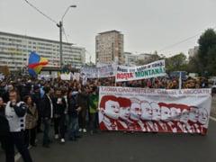 Circulatia a fost reluata la Universitate, unde mai protesteaza 200 de persoane