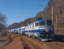 Circulatia feroviara, oprita pe distanta Gura Humorului - Frasin din cauza inundatiilor
