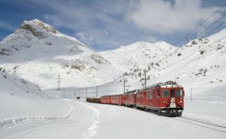 Circulatia feroviara este intrerupta pe calea ferata Arad - Deva. O sina s-a deformat din cauza gerului