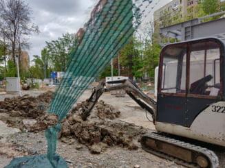 Circulatia in zona statiilor de metrou din Drumul Taberei se redeschide, cu intarziere de 4 ani (Foto)