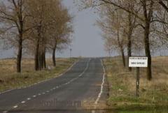 Circulatia pe DJ 222 intre localitatea Enisala si localitatea Salcioara va fi restrictionata