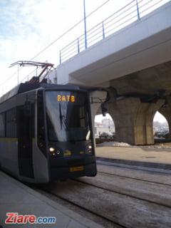 Circulatia pe linia tramvaiului 41, blocata pe ambele sensuri