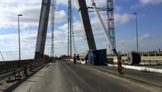 Circulatia pe podul Agigea va fi restrictionata pana la 1 noiembrie. Trei nopti, traficul va fi complet oprit
