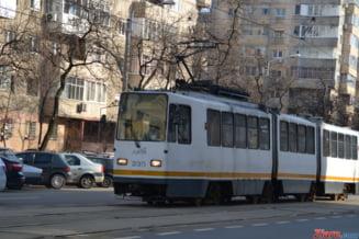 Circulatia tramvaielor 41 a fost blocata mai mult de o ora in aceasta dimineata