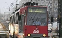 Circulatia tramvaielor de pe linia 41, suspendata in weekend