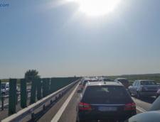 Circulatie este ingreunata pe Autostrada Soarelui, din cauza mai multor accidente