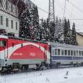 Circulatie feroviara intrerupta, in Olt. Un tren care circula pe ruta Craiova - Bucuresti s-a defectat