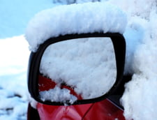 Circulatie in conditii de iarna pe autostrada A1 Sibiu - Deva