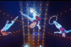 Cirque du Soleil va sustine un spectacol suplimentar la Bucuresti, in seria de show-uri din ianuarie