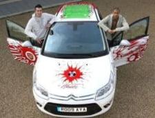 Citroen a creat o masina speciala pentru fanii Arsenal (Galerie foto)