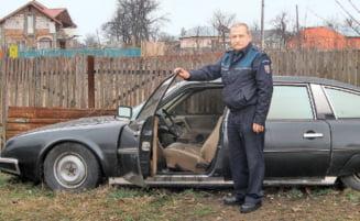 Citroenul Elenei Ceausescu, scos la vanzare pe 1.000 de euro