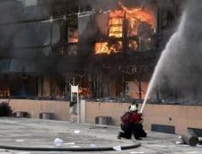 Cladirea unui guvern a fost incendiata, dupa ce zeci de studenti au disparut
