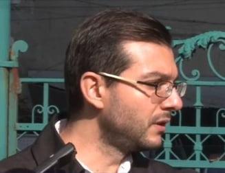 Claudiu Craciun, audiat in dosarul vandalizarii masinii lui Barbu: A fost un flashmob