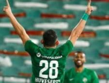 Claudiu Keseru, doua goluri si o pasa decisiva pentru Ludogoret. Atacantul n-a fost convocat de Radoi la nationala