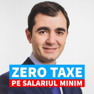 """Claudiu Nasui: Masura """"zero taxe pe salariul minim"""", implementata gradual, pe parcursul a cinci ani"""