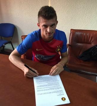 Clauza uriasa pentru jucatorul transferat de Steaua de la Viitorul lui Hagi