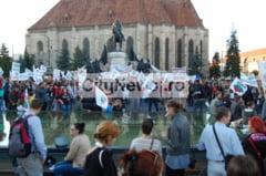 Clujenii ies din nou in strada: vor protesta impotriva Legii Securitatii Cibernetice