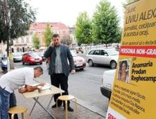 Clujenii vor sa o declare persona non grata pe Anamaria Prodan