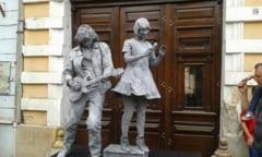 Clujul a devenit centrul european al statuilor vivante